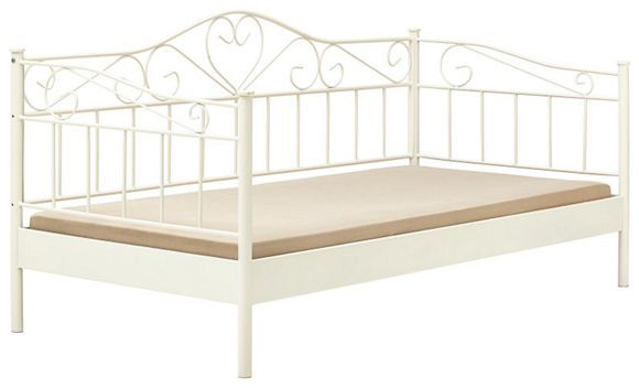 17 beste idee n over bett metall op pinterest. Black Bedroom Furniture Sets. Home Design Ideas