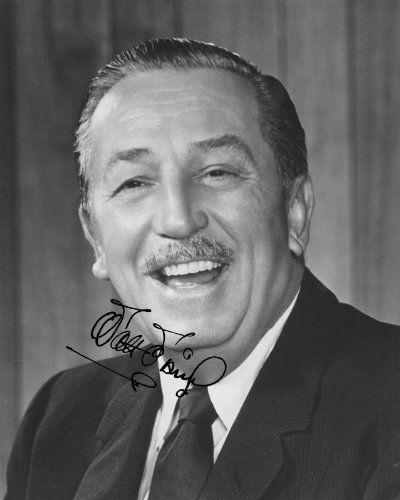 Walt Disney Photo Autograph Reprint Print Autografo Foto Autogramm…