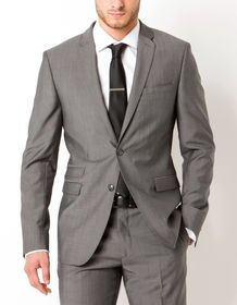 Pince de cravate argentée