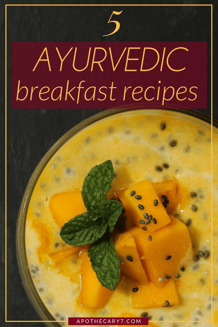 Ayurvedische Frühstücksrezepte und Kickstart für den Tag day PS.   – # Fit & Gesund ~ mit Ayurveda