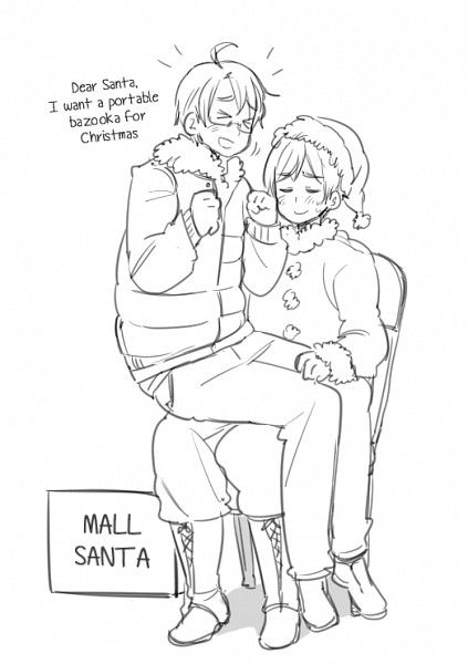 Hetalia - Omg, Finland looks so pleased or so ready to blow up