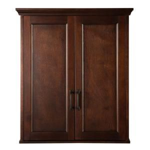 Foremost Ashburn 23-1/2 in. W Wall Cabinet in Mahogany ASGW2327 at The Home Depot - Mobile