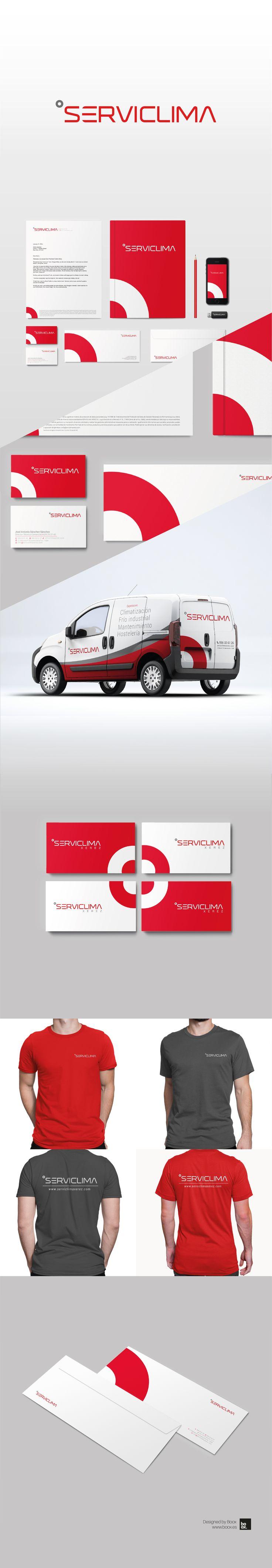 Diseño de branding para Serviclima