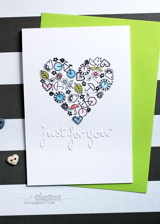 BerryCloud. Creo, ergo sum: Just for you / Card