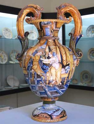 Ancient Maiolica of Casteldurante - Diocesan Museum of Urbania - Marche, Italy