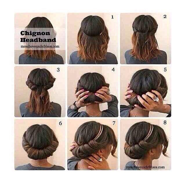 Pin And Tuck Natural Hair