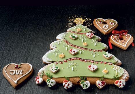Spiseligt juletræ