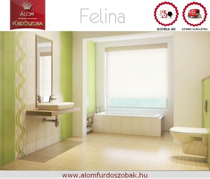 ♥ FELINA kollekció ♥ Árkategória: Bomba jó ☺Gyors szállítás☺ Bemutatótermünkben megtekinthető. További info, akciós árak itt: http://alomfurdoszobak.hu/hu/318-cersanit-felina-furdoszoba