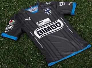 Replicas camisetas futbol 2016 2017: comprar tercera equipación Monterrey baratas 2016 2017
