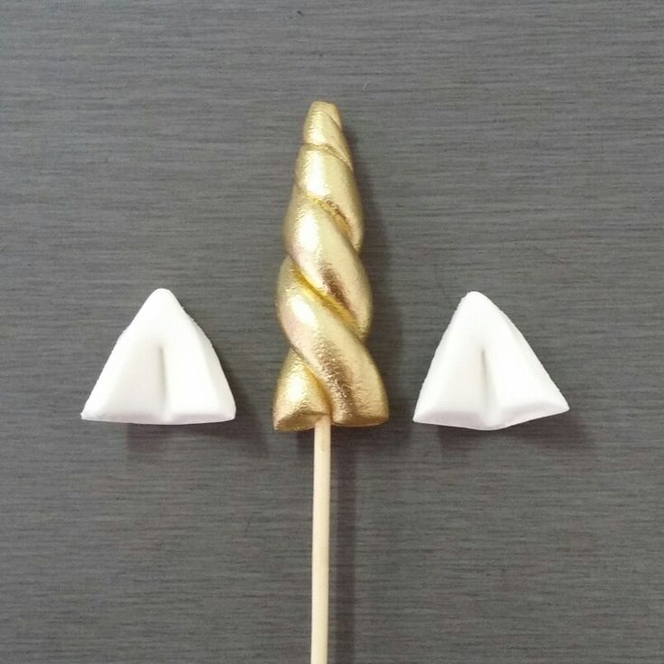 Unicorn Horn Cupcake Toppers