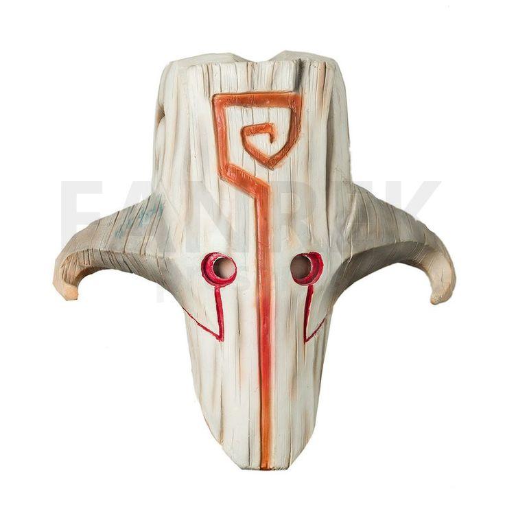 Dota 2 Cosplay Juggernaut Mask Latex Halloween Mask