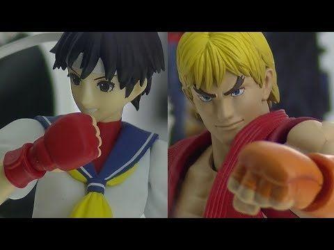 S.H.Figuarts - Street Fighter Series - Ken & Sakura ストリートファイターシリーズ- 春日野さ...