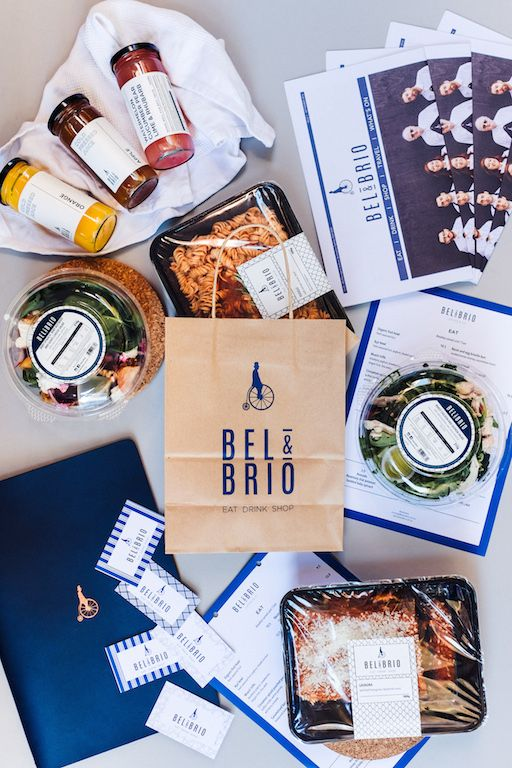 Hospitality Printing for Bel & Brio by Morgan Printing