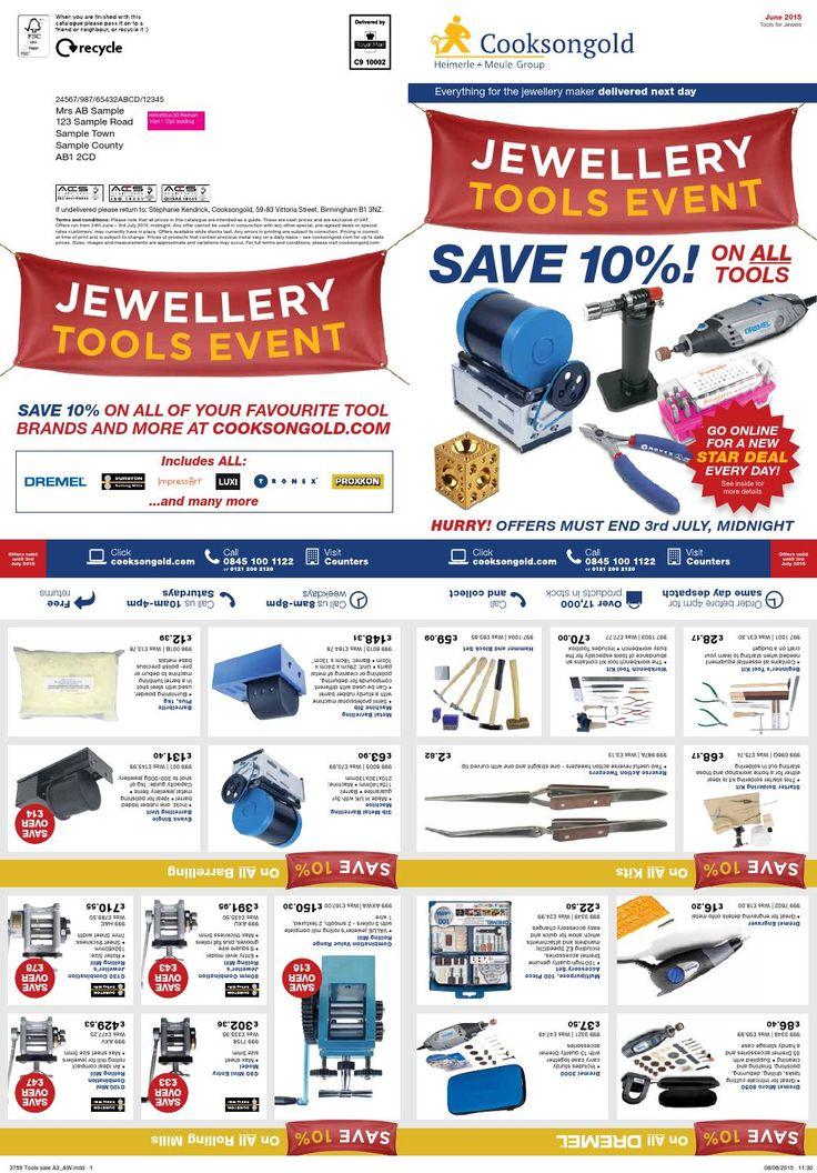 Jewellery Tools Event