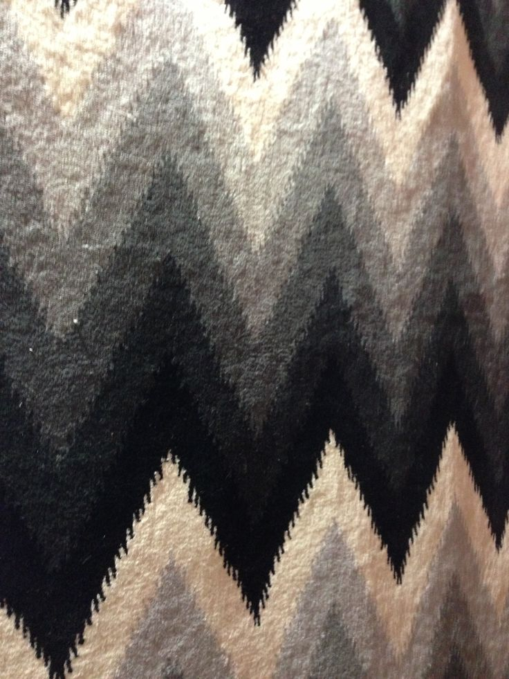 Love this rug in a chevron pattern- stunning