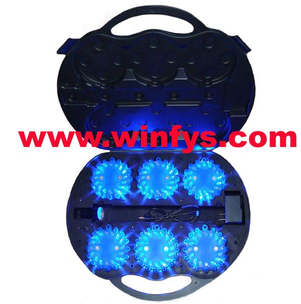 6-Pack Led Power Flares Led Road Flares is Must-Have device for car driver!   Led Road Flares is a great device to make you and your car seen and safe. If your car breaks down at night, in the fog or rain day,Magnetic Rechargeable Led Road Flares will make your car seen to prevent traffic accident at night or on a rainy or foggy day. It is an essential piece of equipment for police, firefighters, EMTs, rescue services, first responders, members of emergency response teams and the general…