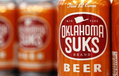 Oklahoma Suks Beer