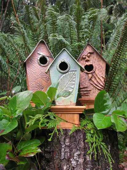 1000 Images About Clay Birdhouses On Pinterest The