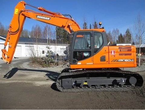 Click On The Above Picture To Download Doosan Daewoo DX160LC Excavator Parts Manual DOWNLOAD