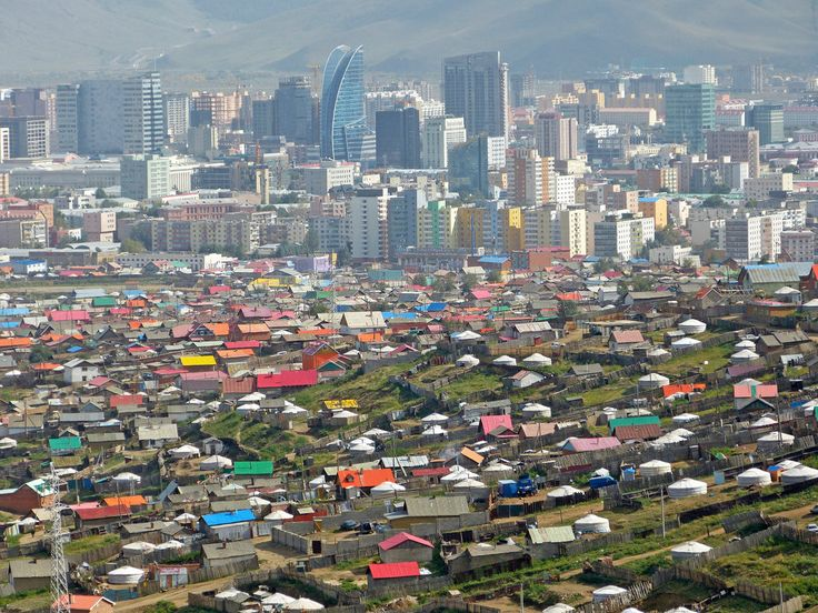 In Mongolia, the Skyline by the Steppes - The New York Times