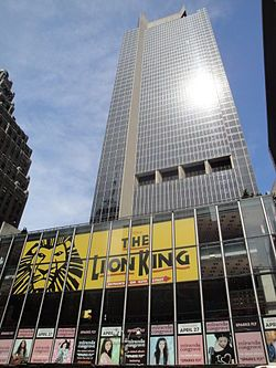 One Astor Plaza is a 745 ft (227 m) high skyscraper in Times Square in Midtown Manhattan, New York City.