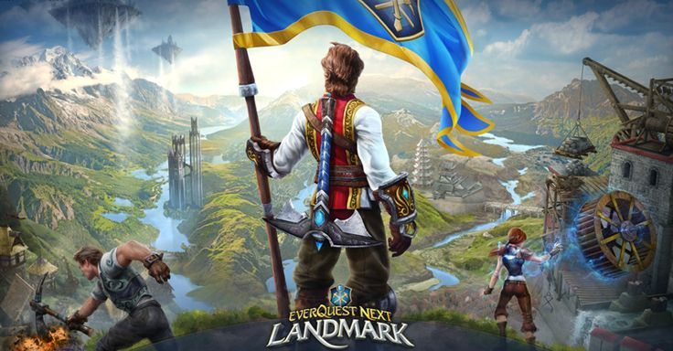 Win a Everquest Next Landmark Closed Beta Key
