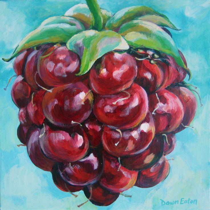 Sweet n' Tart - a Series of Small Paintings - Art by Dawn Eaton