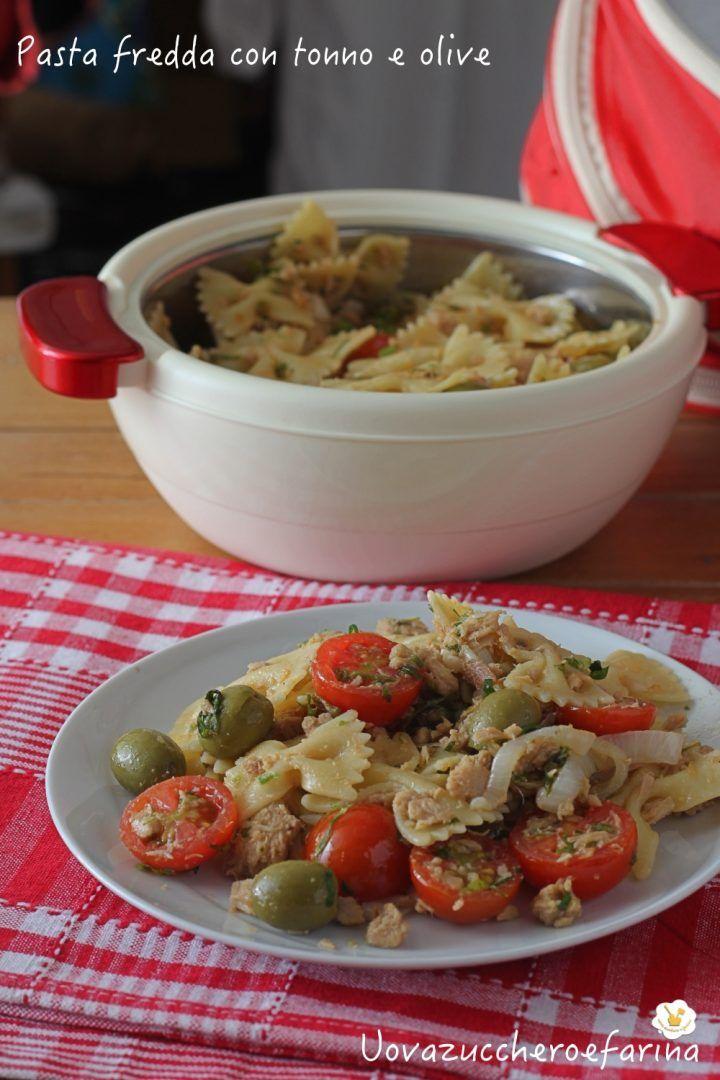 pasta fredda tonno olive verdi