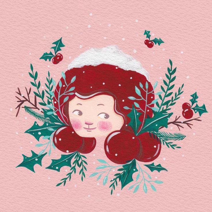 Christmas background Download free!!  그라폴리오에서 배경화면 공유해요!  미리 메리크리스마스!! http://www.grafolio.com/works/detail.grfl?projectNo=243300    #background #download #free #jjlynndesign #christmas #girl #gouache #illustration #배경화면 #크리스마스 #그라폴리오 #다운로드 #소녀 #과슈 #과슈페인팅 #일러스트 #제이제이린 #kidlit #kidlitart #artwork #art #artist #artistsoninstagram #그림 #그림쟁이 #kidsillustration #illustagram