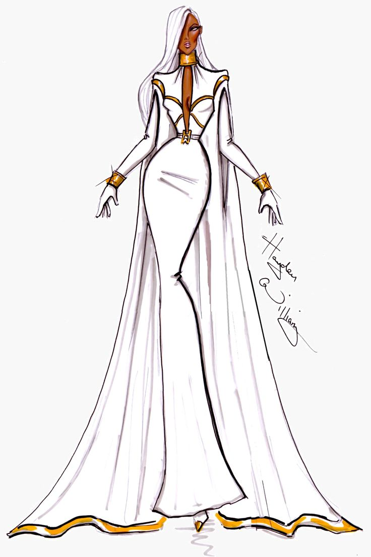 Marvel Couture by Hayden Williams: Storm