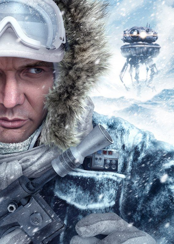 Han Solo, Hoth by Chris Wahl