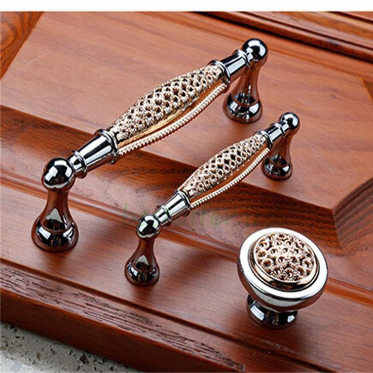 Modern Kitchen Cabinet Door Handles Stainless Steel Drawer