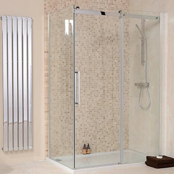 The 1000 x 800 AquaStream Elite 8mm Sliding Shower Enclosure, priced at £453.95. The Elite Sliding Shower Enclosure is a state of the art design combined with exceptional ease of use and stunning aesthetics. A minimalist design is further enhanced by the contemporary roller styling and a truly unbeatable price. Order now at - http://www.taps.co.uk/1000-x-800-aquastream-elite-8mm-sliding-shower-enclosure.html