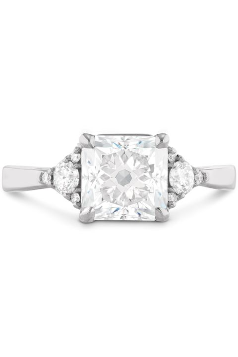 "Your ring has A large square diamond You are Confident and proud ""You"