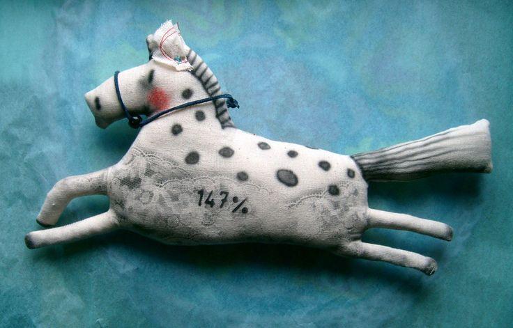 Pferdchen hop,hop,Schwesterchen... von Galerie MIZUMI auf DaWanda.com