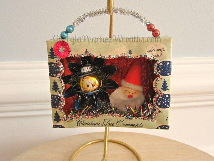 Image of Vintage Ornament Box Diorama #14