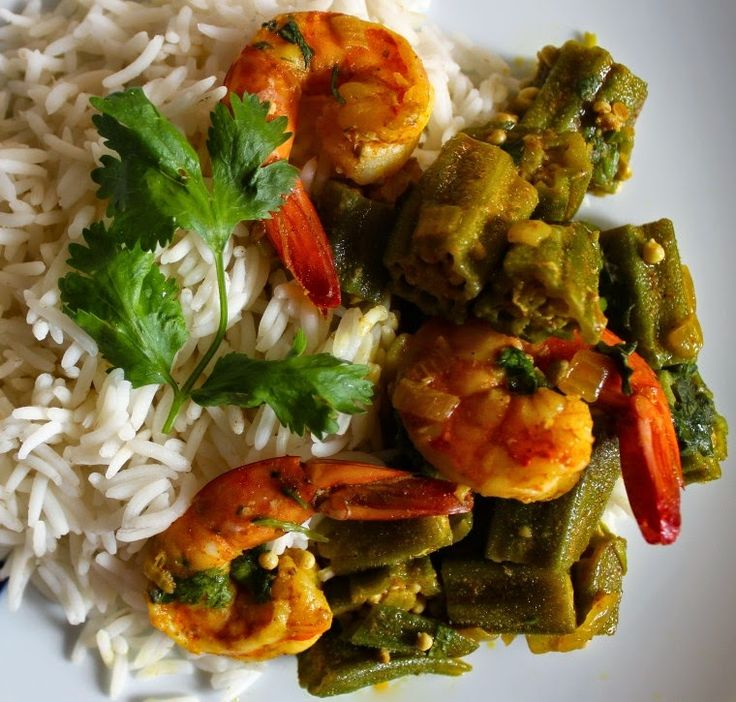 Bengali Recipe: Shrimp With Okra (Dharosh Chingri)