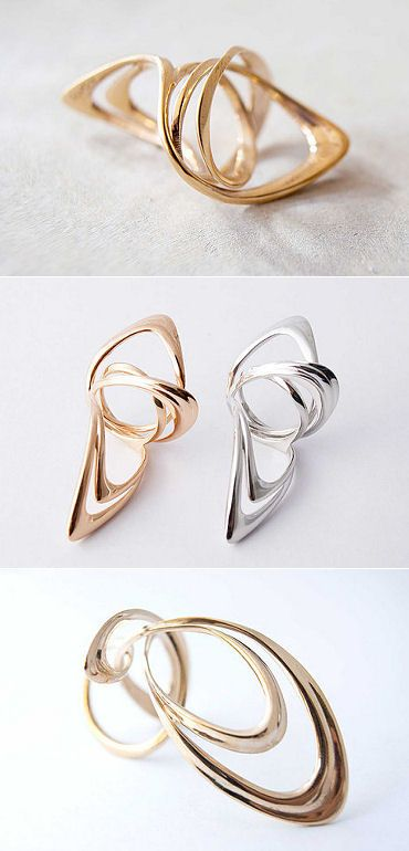TheCarrotbox.com modern jewellery blog : obsessed with rings // feed your fingers!: Ai Sato
