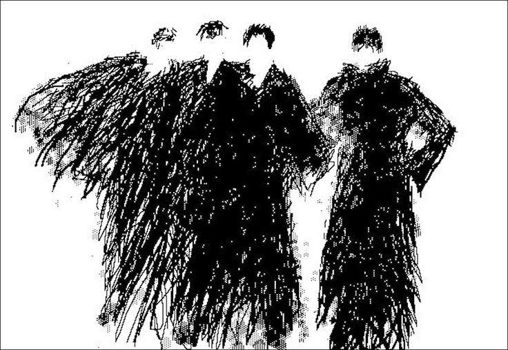 "H e n n i n g H o l m N i e l s e n. PC-drawing. THEATER. ""The Primadonna"""
