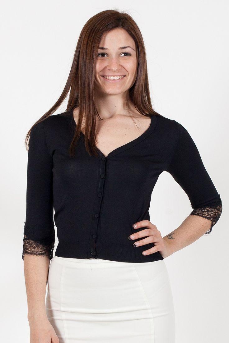 Maglia Kaos. Collezione Kaos Donna. Abbigliamento donna. www.vitalina.it #outfitprimavera #outfitestate #lookestate #kaos #donna #pizzo #glamour