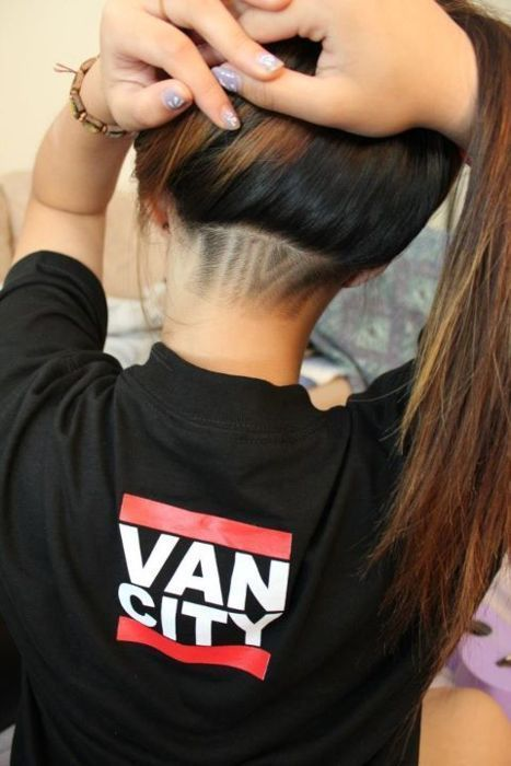 The Undercut Hairstyle Women Emo Haircut On Hairstyle Hair