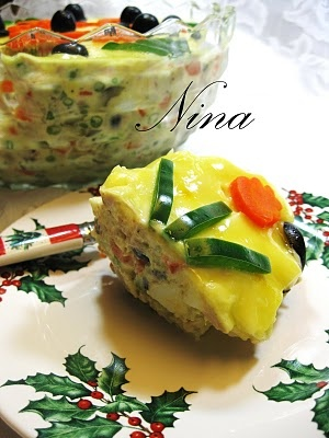 BEEF AND VEGETABLES SALAD - BOEUF SALAD - (salata de boeuf)