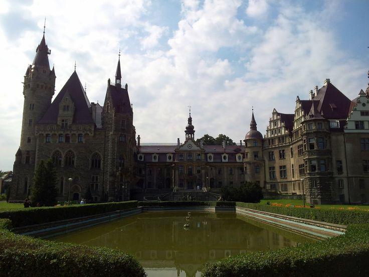 The Moszna castle by Wodzionka81 on DeviantArt