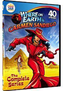 $5.99 Amazon.com: Where on Earth is Carmen Sandiego? - The Complete Series: Rita Moreno, Jennifer Hale, Scott Menville: Movies & TV