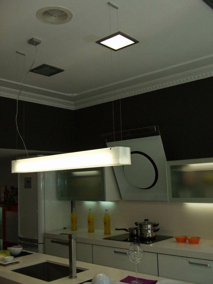 Proyecto iluminacion tienda muebles de cocina taralux proyectos decoraci n y cocinas - Iluminacion para muebles ...
