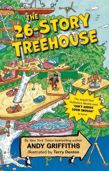 The 26-Story Treehouse (sequel to The 13-Story Treehouse) by Andy Griffiths