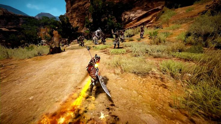 『黒い砂漠』公式動画 -覚醒武器『ブレイダー』戦闘シーン-