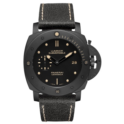 Luminor Submersible 1950 3 Days Automatic Ceramica http://www.orologi.com/cataloghi-orologi/panerai-special-editions-luminor-submersible-1950-3-days-automatic-ceramica-pam00508