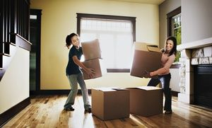 Groupon - 120 Minutes of Home Moving Services from ATCR MOVERS (50% Off) in Redeem from Home. Groupon deal price: $100