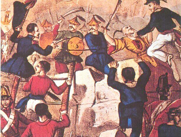 LAS GUERRAS del OPIO o guerras anglo-chinas fueron dos conflictos bélicos que ocurrieron en el siglo XIX entre los imperios chino y británico. La Primera tuvo lugar entre 1839 y 1842. La Segunda, en la que Francia se implicó con los británicos, estalló en 1856 y duró hasta 1860. Sus causas fueron los intereses comerciales que creó el contrabando británico de opio desde la India hacia China y los esfuerzos del Gobierno chino para imponer sus leyes a ese comercio.  La derrota china en las dos…